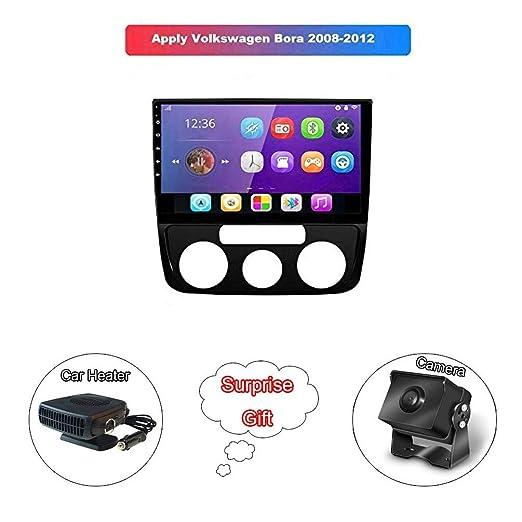 XMZWD 10.1 Pulgadas Coche GPS Navegación Android 8.1 HD Pantalla ...