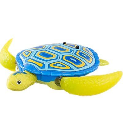BESTLEE Water Activated Robo Turtle Blue: Toys & Games