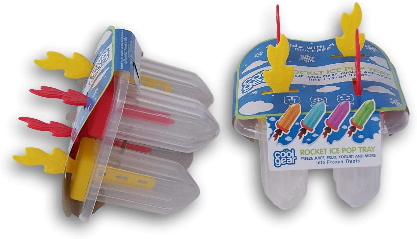 Cool Gear Classic Ice Pop Frozen Treat Popsicle Tray
