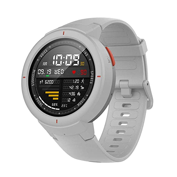 Amazfit Verge Smartwatch con Alexa integrada,GPS Integrado,Rastreador de Actividad,RAM 512M,ROM 4GB,1.30