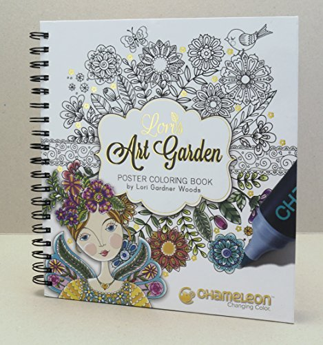 Chameleon Art Products, Coloring Book - Lori's Art Garden ()