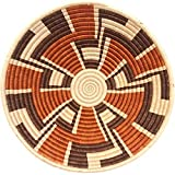 Fair Trade Rwanda African Sisal Bowl 11-12'' Across, #33838