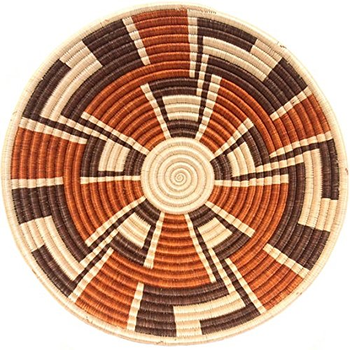 Fair Trade Rwanda African Sisal Bowl 11-12'' Across, #33838 by Baskets of Africa