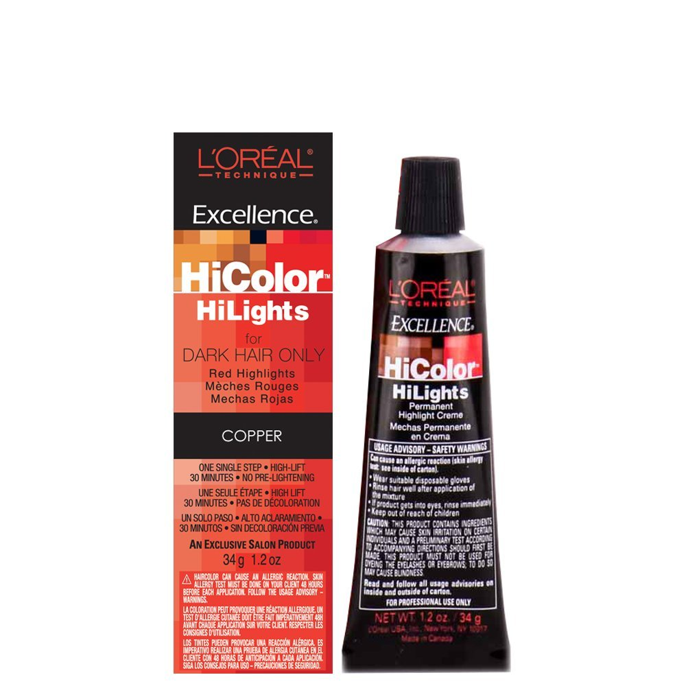 Amazon Com L Oreal Excellence Hicolor Light Auburn