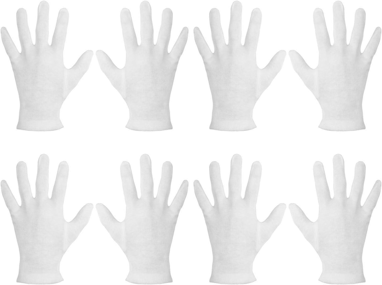 Dios guantes Dermatológicos de Algodón Crema absorción mantener su piel suave suave: Amazon.es: Belleza