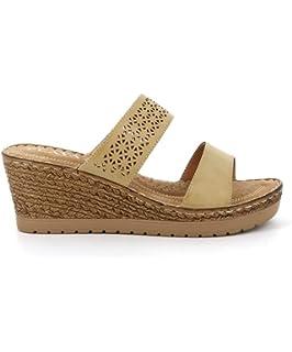a046904d972758 PLAYA COLLECTION - Mule compensée NUMANCE: Amazon.fr: Chaussures et Sacs