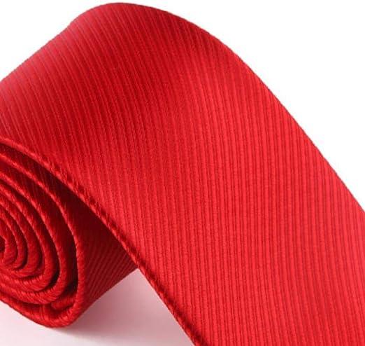 LG GL Corbata de Hombre Corbata roja Matrimonio Novio Padrino de ...