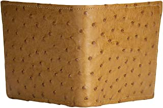product image for Cognac Ostrich Wallet by John Allen Woodward