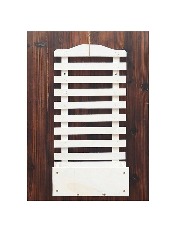 フラワースタンド アイビー スタンド ラック ワイド花支架花园机架 フラワーラック 創造的なバルコニー壁に吊るした壁掛けのフラワーラックソリッドウッドの花瓶の棚の棚 (色 : B) B07CTQ9NLV B B