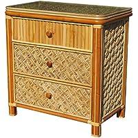 Spice Islands Mandalay 3 Drawer Dresser, Natural