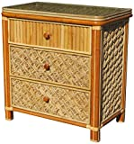 Spice Islands Mandalay 3 Drawer Dresser, Natural