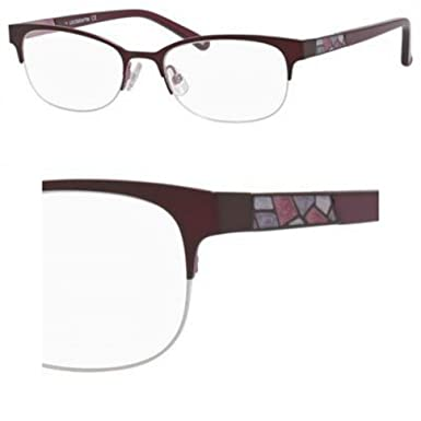 fc9a831cc6c Image Unavailable. Image not available for. Color  Liz Claiborne Liz  Claiborne 626 0FS7 Plum Eyeglasses