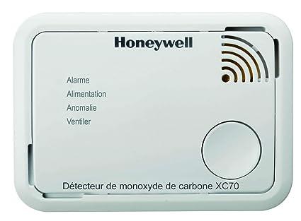 Honeywell spc - Detector de monóxido de carbono - Tipo SF450 con pilas - : XC70