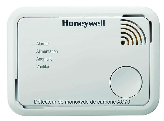 Honeywell spc - Detector de monóxido de carbono - Tipo SF450 con pilas - : XC70-FR: Amazon.es: Bricolaje y herramientas