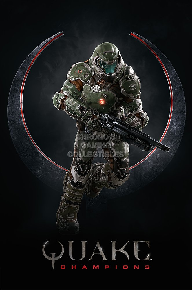 Quake Champions Poster