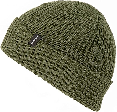 Duckworth Knit Watchman Hat - Men's -Military DW30841-Military Green