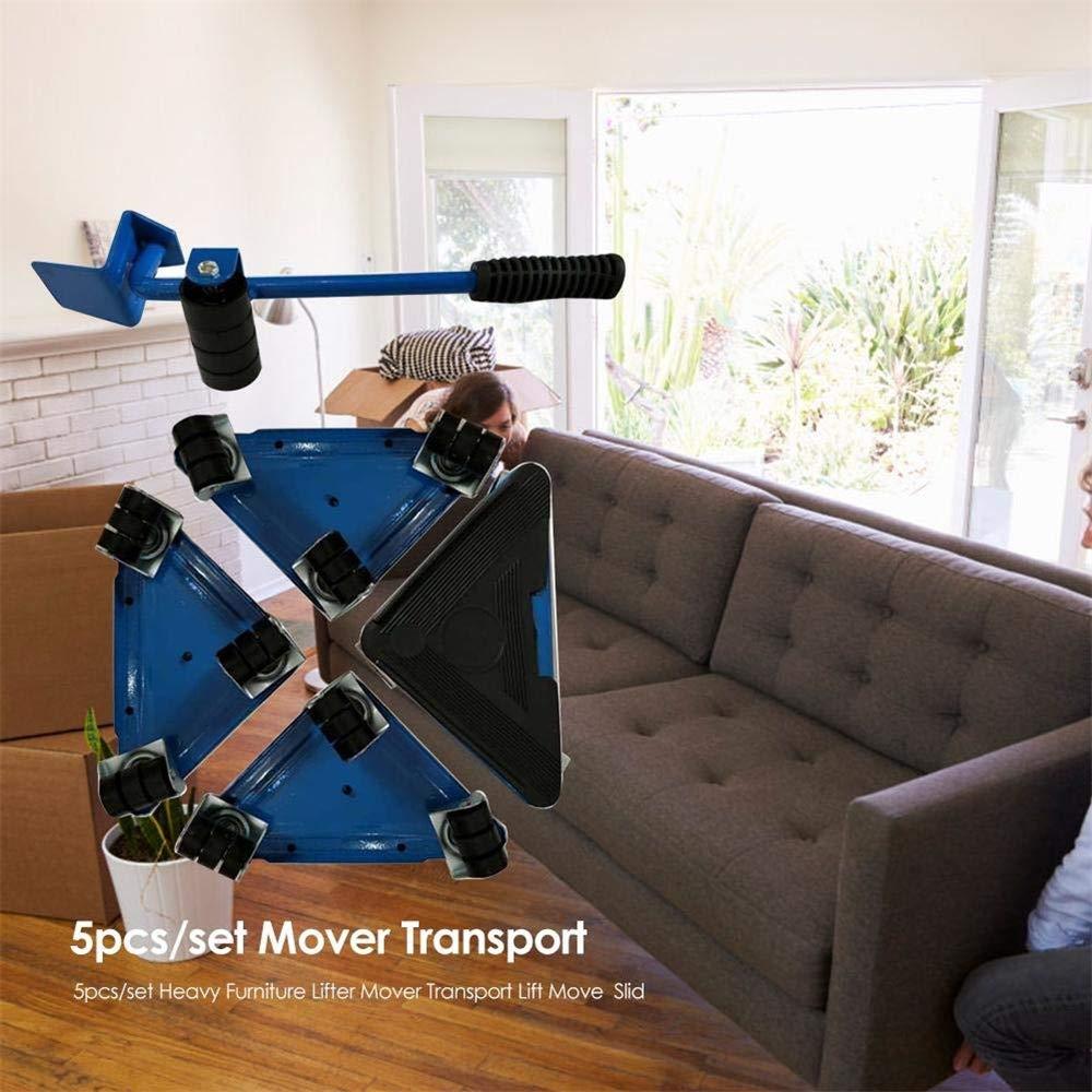 NOBGP Ascensor de Muebles refrigerador estanter/ía Sistema de Movimiento de Muebles estables de profesi/ón 661 Libras Durable Heavy Lifting Moving Tool Set para el hogar Lavadora Cama sof/á