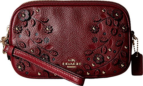 90f2d0df2 COACH Women's Willow Floral Applique Crossbody Clutch – Anna's ...