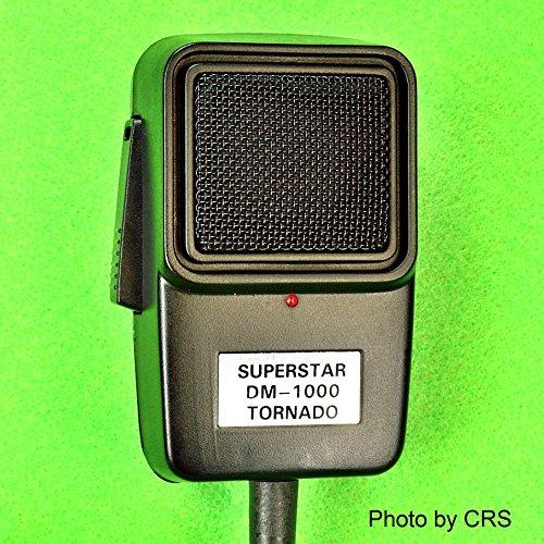 Workman Power/Tornado Echo Mic for CB/Ham Radio 4 pin Cobra/Uniden DM1000