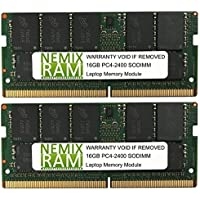 32GB (2 X 16GB) DDR4-2400MHz PC4-19200 SODIMM for Apple iMac 27 2017 Intel Core i5 Quad-Core 3.6GHz MNED2LL/A (iMac 2718,3 Retina 5K Display)
