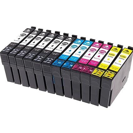 Ouguan® 12x Cartuchos de Tinta Epson 29 29XL Compatible con ...