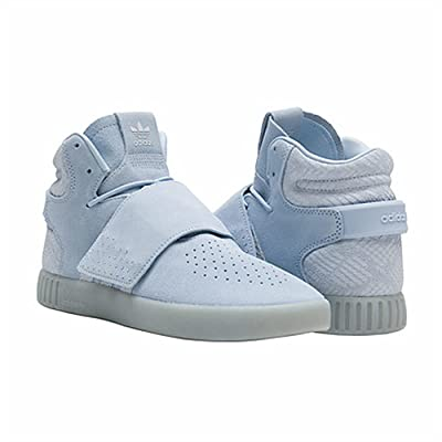 adidas Originals Mens Tubular Invader Strap Shoes (11, Easy Blue) | Fashion Sneakers