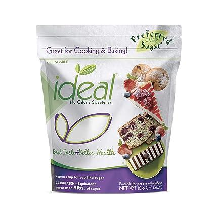 Ideal No Calorie Sweetener 10.6 oz bolsa para hornear ...
