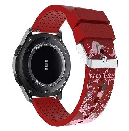 Sannysis Samsung Gear s3 Frontier Correa Accesorios Banda de ...
