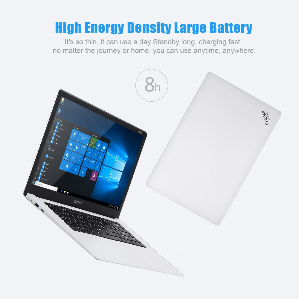 "CHUWI Ordenador Portátil 15.6""FHD Pantalla Windows 10 4Go RAM Quad Core Intel Cherry Trail Z8300"