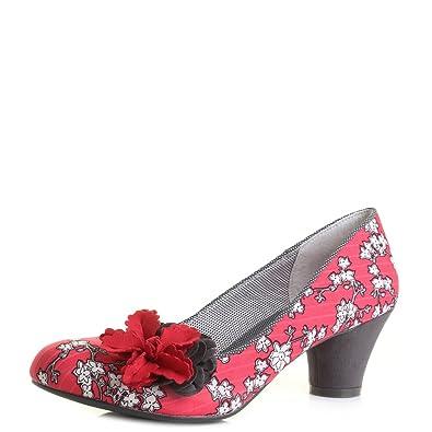 Ruby Shoo Samira Damen Schuhe Schwarz
