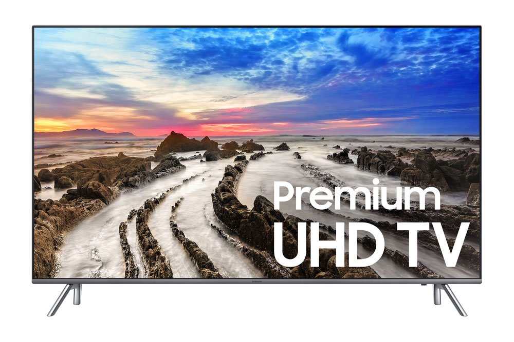 c036c4673fe Amazon.com  Samsung Electronics UN55MU8000 55-Inch 4K Ultra HD Smart LED TV  (2017 Model)  Electronics
