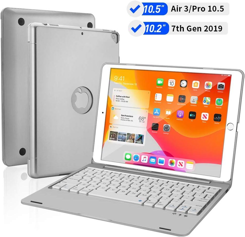 Funda con teclado para iPad 10.2 7ma generación...-H1DY