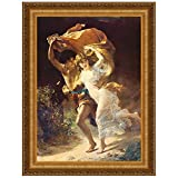 Design Toscano The Storm Canvas Replica Painting: Grande