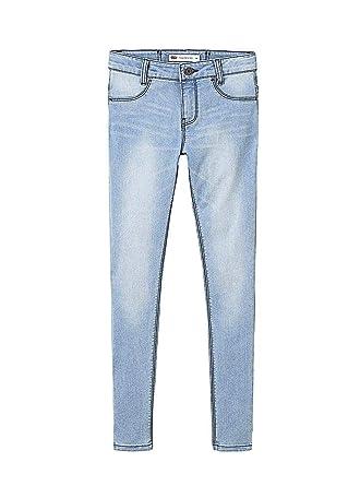99bce38ac4e4 Jeans Levis 710 Indigo Blu Chiaro Bambina 2A Blue  Amazon.it  Abbigliamento