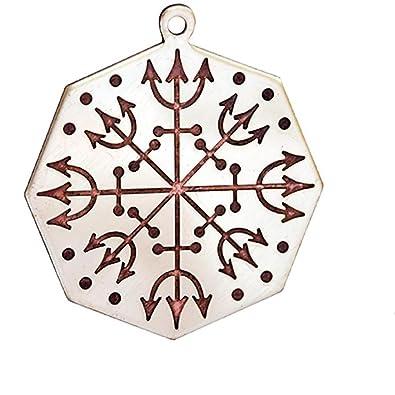 Loa Eshu Pendant Amulet Talisman Voodoo Charms Protection Amazon