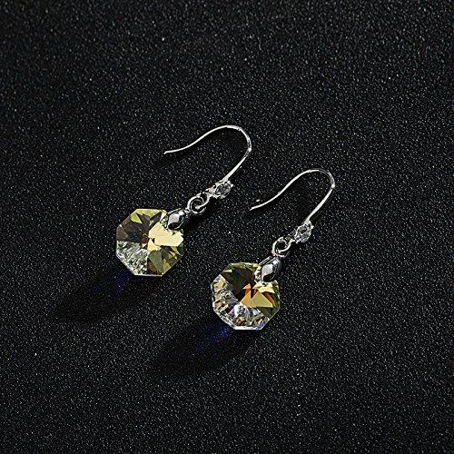 Ling Studs Earrings Hypoallergenic Cartilage Ear Piercing Earrings Fashion Crystal Simple Short Earrings Ear Jewelry
