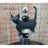 Cat lovers Wine Stoppers Black and White Tuxedo Cat Kittens gift feline Wine tasting Gift