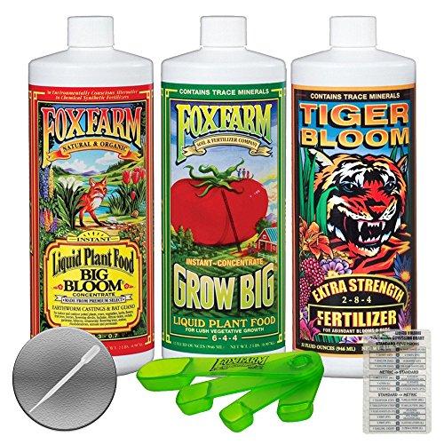 Fox Farm FX14049 Liquid Nutrient Trio Soil Formula: Big Bloom
