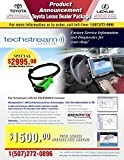 Toyota Techstream Toughbook Dealer Includes