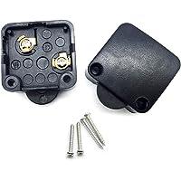 FUJIE Skåp dörrbrytare svart yta tryck för att bryta dörrljusströmbrytare 2 A 250 V skåp dörr ljuskontroll strömbrytare…