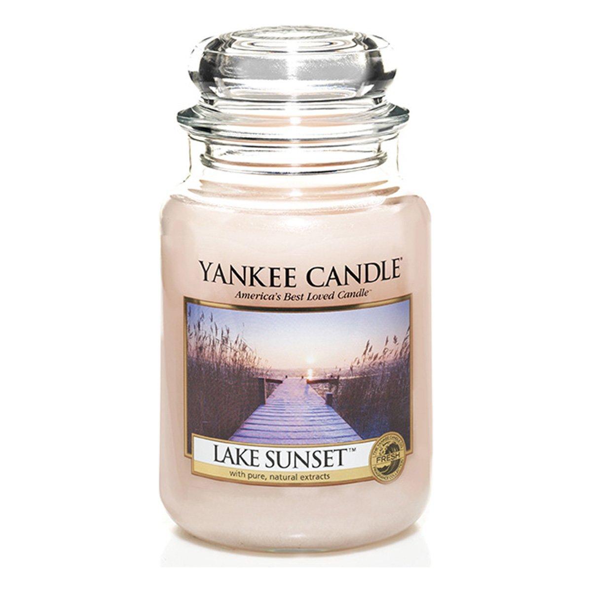 Yankee Candles Large Jar Candle - Lake Sunset