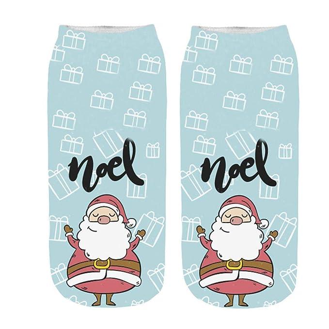 9698f9a0ec9 HYIRI ✈ Xmas Christmas Novelty Thick Soft Crew Winter Warm Sock Wool  Classics Dress Socks at Amazon Women s Clothing store