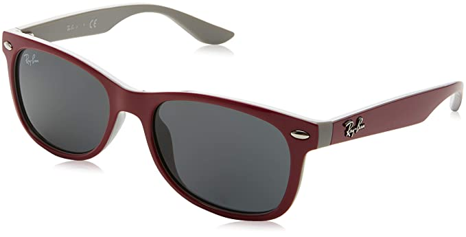 f7dcb7f937 Ray-Ban JUNIOR Wayfarer Junior Gafas de sol, Top Red Fuxia on Gray, 47  Unisex-Niño: Amazon.es: Ropa y accesorios
