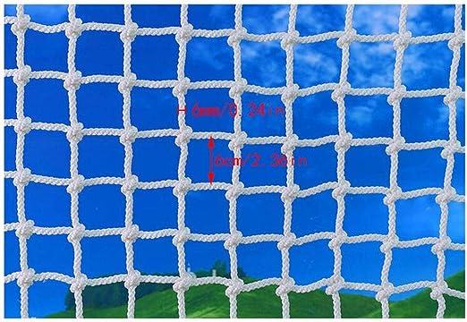 Niños Blancos Escaleras Redes Seguras Cuerda Blanca Construcción de Red Caja Fuerte Red Jardín Exterior Protección Red Hamaca Columpio Cuerda de Red Cuerda Cubierta de Carga (Size : 2x3m): Amazon.es: Productos para