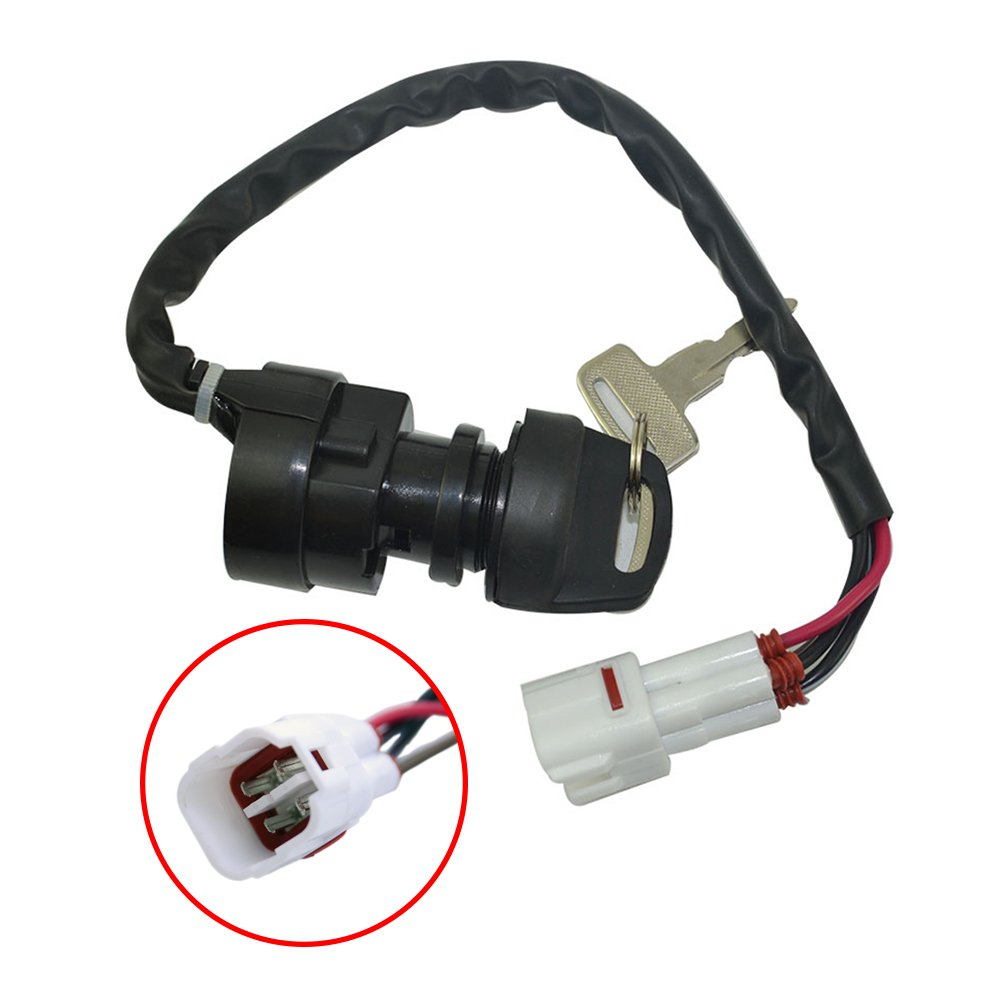 flypig replacement ignition key switch for yamaha timberwolf 250 yfb250 yfb250f atv 1994 2000 as1248sw100lm Yamaha Timberwolf 250 Service Manual