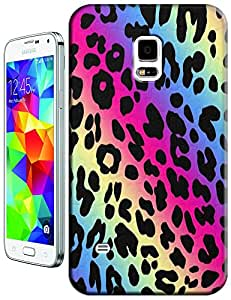 Apple Accessories Colorful Leopard Design Fashion Beautiful Cases For Samsung Galaxy i9600 S5 No.3