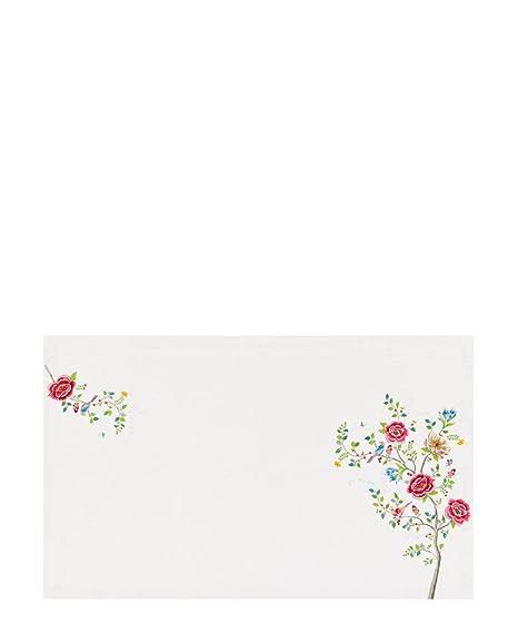 Pip Studio Morning Glory 51035021 Table Cloth Cotton 150 X 250 Cm White