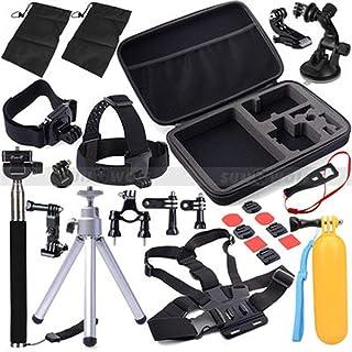 BFHCVDF 30 in 1 Sports Camera Combination Accessory Set For GoPro Hero 4/3/3+ Black