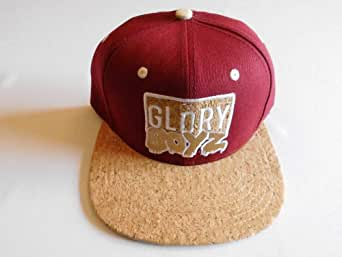 Glory Boyz Hip Hop Cap Quality Snapback Color Black with Pink