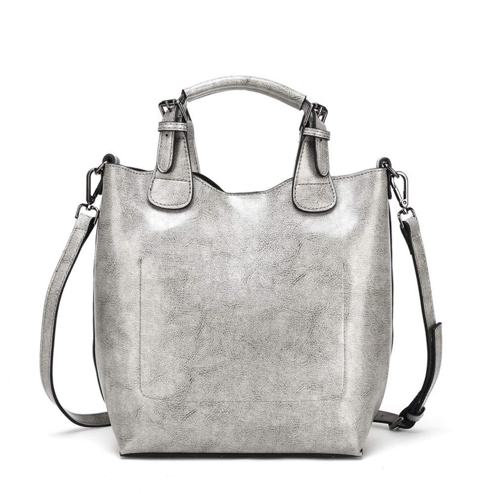 HHF Umhängetaschen & Handtaschen Damen große Kapazität Quaste Handtasche, weiche Leder Tote Schultertasche für Frauen B07PQ2X1ZM Rucksackhandtaschen